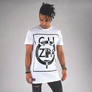 Urban Cuzy T Men's White Short Sleeve T-Shirt